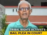 """Video : """"Would Rather Die"""": Jailed Activist Stan Swamy On Mumbai Hospital Treatment"""