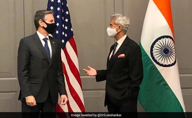 S Jaishankar Meets Antony Blinken In London, Discusses Covid Situation