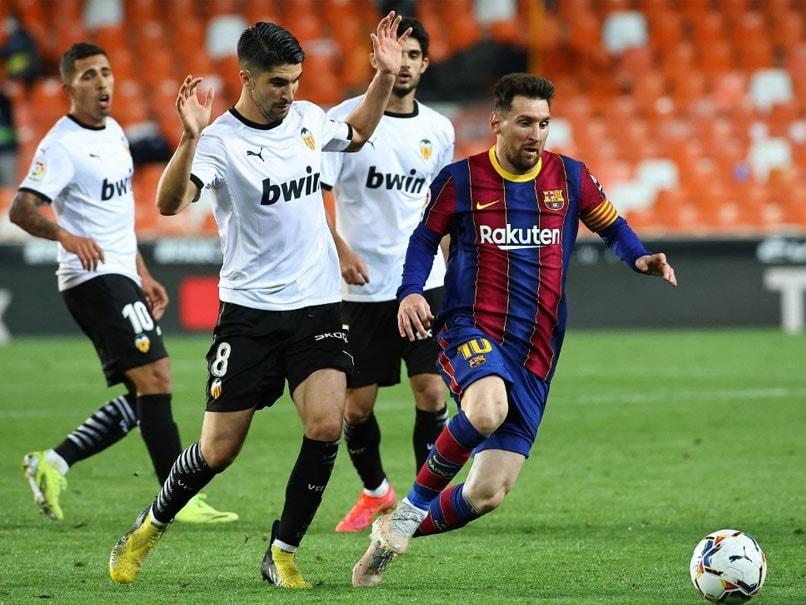 La Liga: Lionel Messi Double Leads Barcelona To Nail-Biting Win Over Valencia