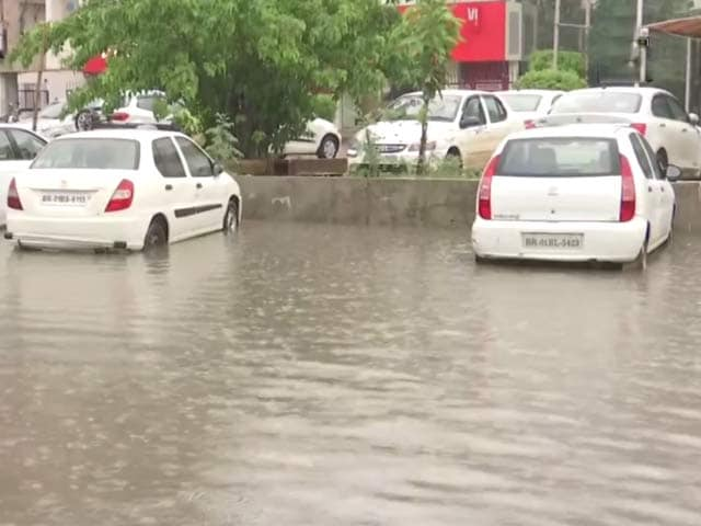 Video : Heavy Rain Leads To Waterlogging In Patna