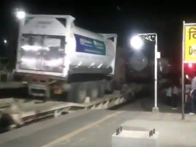 Video : Three Oxygen Express Trains Have Arrived In Delhi NCR, Says Piyush Goyal