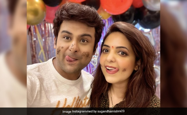 How Sugandha Mishra's Birthday Was Made Special. See Her Note For Husband Sanket Bhosale