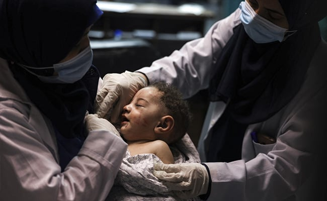'No One Left But You': 5-Month-Old Gazan Pulled From Dead Mother's Arms