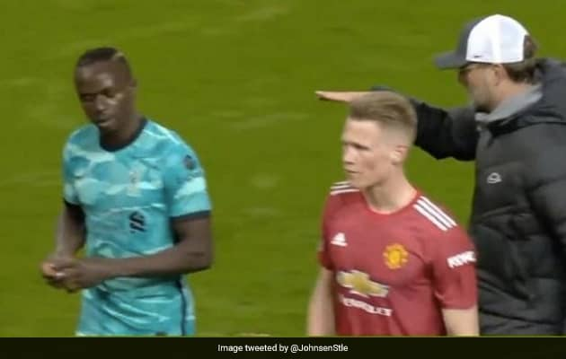 Watch: Mane Refuses To Shake Klopps Hand After Win Over Man United