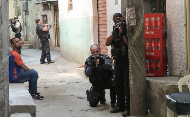 25, Including Cop, Killed In Deadliest Brazil Drug Gun Battle In 16 Years