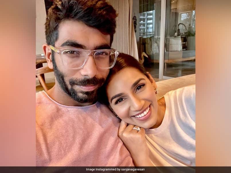 Sanjana Ganesan Is All Smiles After Reuniting With Jasprit Bumrah At Home After IPL 2021