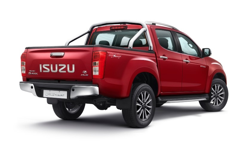 , BS6 Compliant Isuzu D-Max V-Cross Range Launched In India, Prices Start At Rs. 16.98 Lakh,