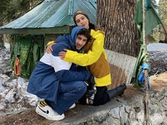Eid Ul Fitr: Sara Ali Khan Hugs Brother Ibrahim In Kashmir Throwback Pic