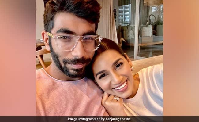 Jasprit Bumrah And Sanjana Ganesan Treat Fans With Adorable Pic On Reuniting Post IPL 2021