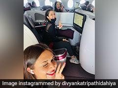 <i>Khatron Ke Khiladi</i>: Inside Cape Town Flight With Divyanka Tripathi And Shweta Tiwari