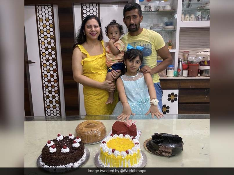 """""""Your Smile Lights Up My Life"""": Wriddhiman Sahas Cute Birthday Wish For Daughter Mia"""