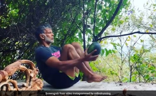 Milind Soman Spent '36 Hours Without Gadgets.' A Watermelon Was Involved
