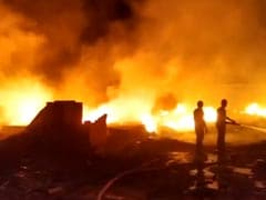 Massive Fire Breaks Out In Slums Of Noida, Officials Rushed To Spot