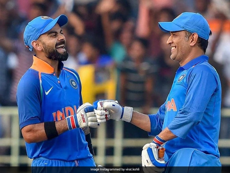 Virat Kohli and MS Dhoni share a great camaraderie on and off the field.© Instagram