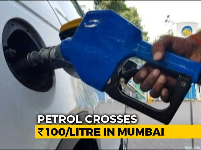 Video : Fuel Prices At Record High, Petrol Crosses Rs 100-Mark In Mumbai