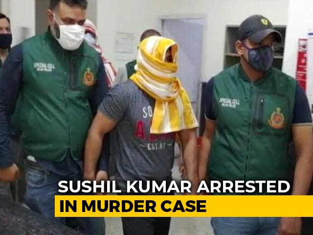 Video : Olympic Wrestler Sushil Kumar, Wanted In Murder Case, Arrested In Delhi