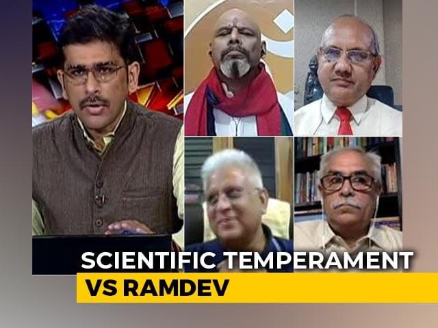 Video : Ramdev's Anti-Allopathy Rant: Harming India's International Image?