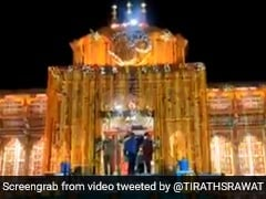 Badrinath Temple In Uttarakhand Reopens In Small Ceremony Amid Covid