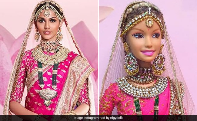 Sri Lanka Artist Creates Saree-Clad Doll Inspired By Miss Universe Runner-Up From India