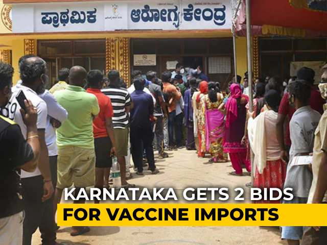 Video : Daily Cases Falling, Vaccine Shortage Karnataka's New Cause For Concern