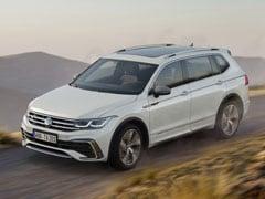 2022 Volkswagen Tiguan Allspace Facelift Unveiled