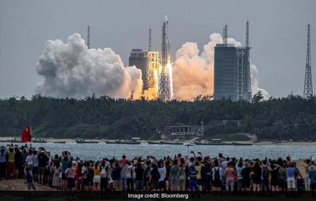 Tumbling Chinese Rocket Expected To Re-Enter Atmosphere May 8