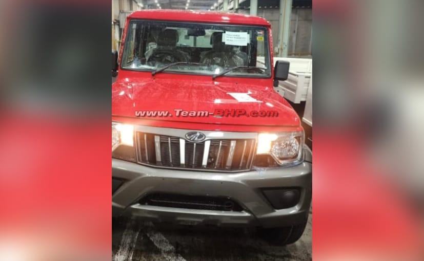 The 2021 Mahindra Bolero in the photo looks production-ready and we would expect a market launch soon
