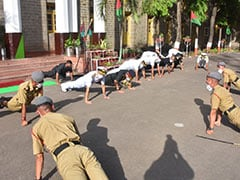 """How Many Push-Ups? """"As Many"""": Navy Chief Leads Young Cadets By Example"""