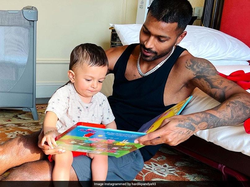 "Hardik Pandya Is ""Creating Memories For Life"" With Son Agastya"