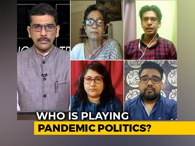 Video : Bengal Chief Minister vs PM: Who Is Playing Pandemic Politics?