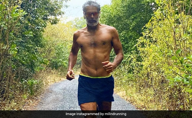 Milind Soman, 'Running In The Rain,' Is Waiting To Hit This Milestone