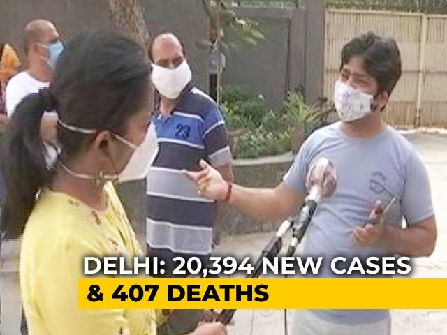 Video : Vaccination Sites At More Than 70 Schools In Delhi