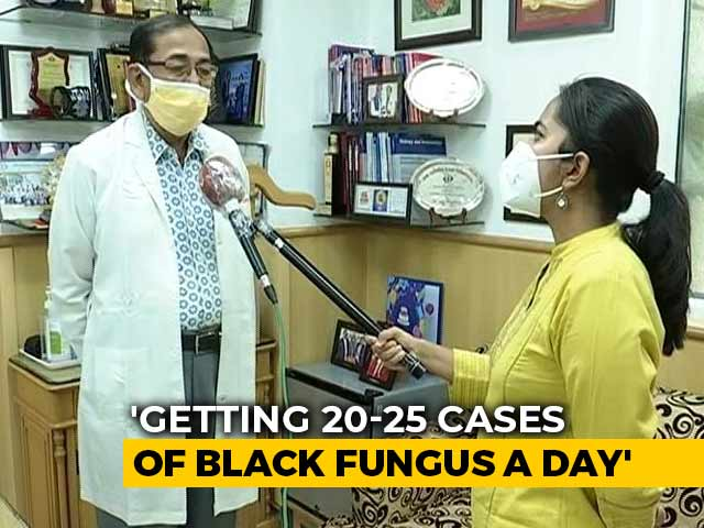 Video : Delhi Doctor On Spike In Black Fungus Cases In Covid Patients