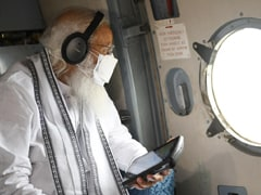 PM Modi Conducts Aerial Survey Of Gujarat To Assess Cyclone Tauktae Damage
