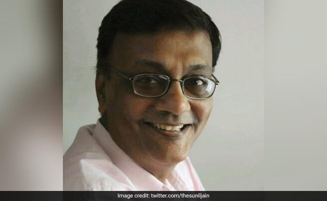 Senior Journalist Sunil Jain Passes Away Due To Post-COVID Complications