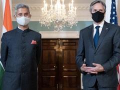 "COVID-19 Vaccines ""The Most Important Subject"": S Jaishankar On US Meetings"