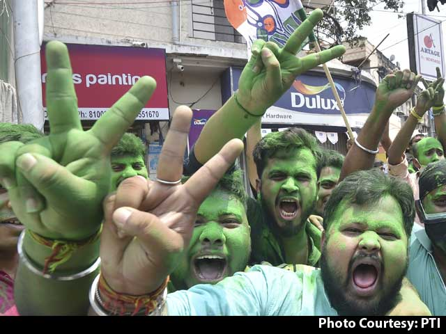 Video : Election Results: Early Trends Show Victory For Trinamool In Bengal, BJP Win In Assam