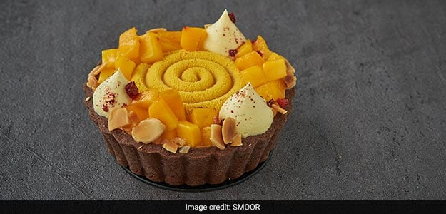 Alphonso Mango Chocolate Delicia Tart