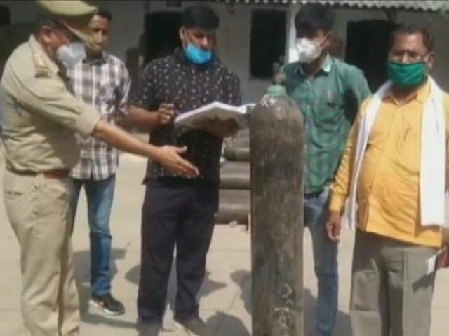 Video : Kanpur Cop Starts Oxygen Bank For The Poor
