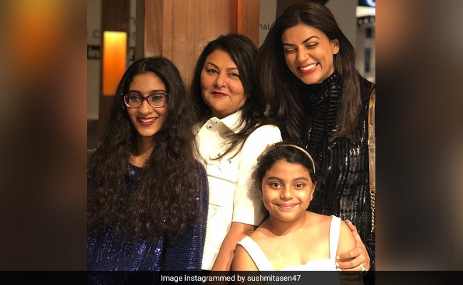 """Thanks For Being Divine Source Of Love"": Sushmita Sen On Mother's Day"