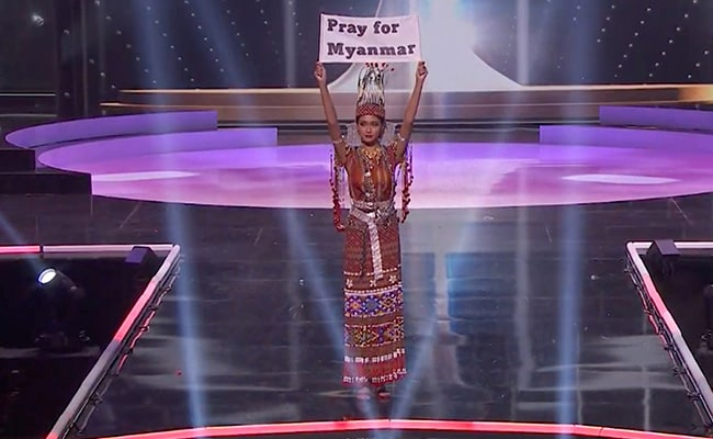 """Our People Are Dying"": Myanmar Contestant At Miss Universe Pageant"