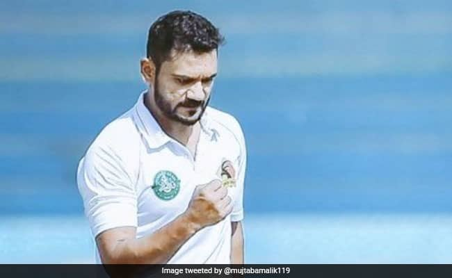 Tabish Khan sets a new record in the first over of his debut match Watch the video Zim vs Pak 2nd Test