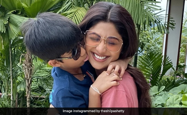 'Not Even Done Hugging You': Shilpa Shetty Posts Aww-Dorable Throwback On Son Viaan's Birthday