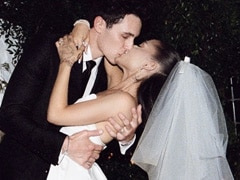 Viral: Ariana Grande's Wedding Pics Are Straight Out Of A Fairytale