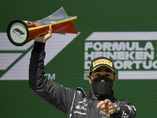 Lewis Hamilton Wins Portuguese GP, Max Verstappen Finishes Second