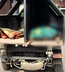 Woman's Body Taken For Cremation In Garbage Van In UP Amid Covid Fear
