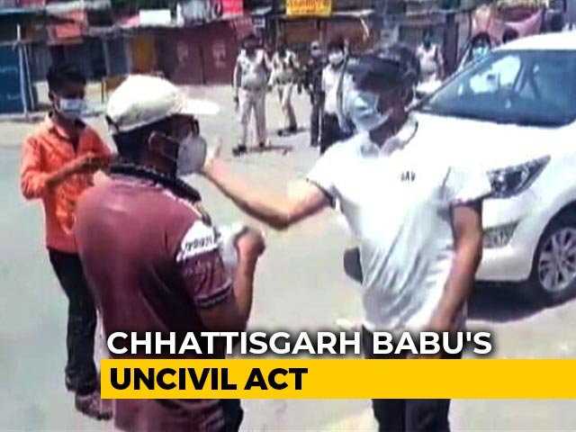 Video : Video: Man Going To Buy Medicine Thrashed In Chhattisgarh By Cops