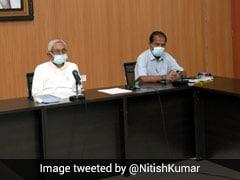 Nitish Kumar Holds Meet On Cyclone Yaas; Tells Officials To Remain Alert