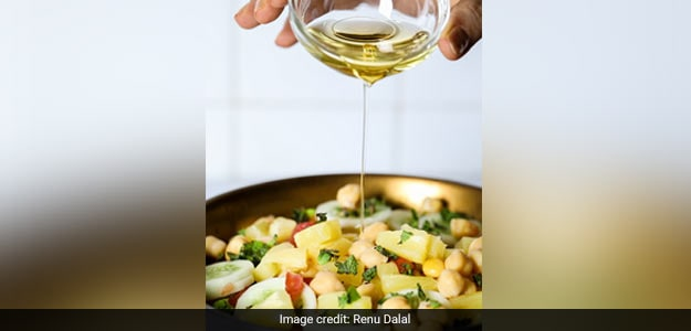 Chickpea and Pineapple Salad