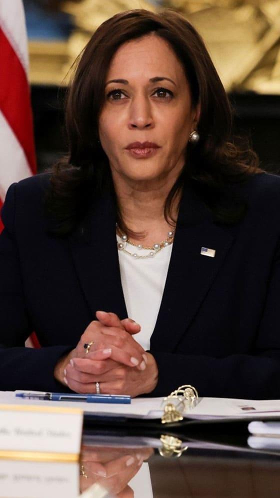US Vice President Kamala Harris Vows 'Enduring Engagement' In Asia